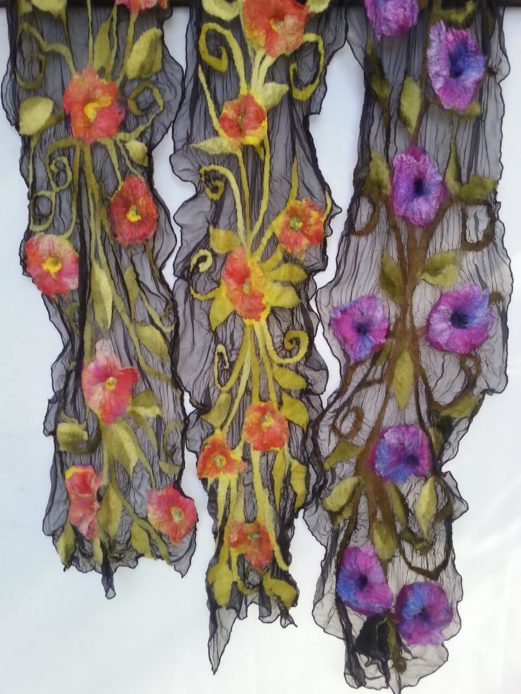 Silk Scarves by Wendy Bailye