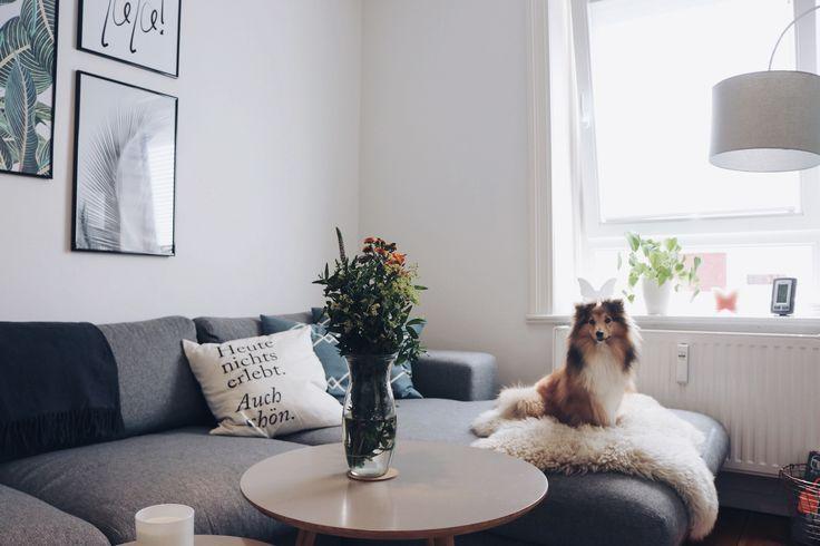 Roomtour: Scandinavian Living Room. Skandinavischer StilWohnzimmer ...