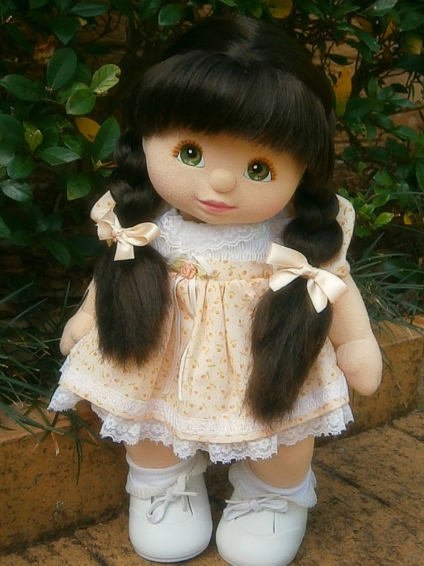 My Child Doll....mine was named April....so much cuter than Cabbage Patch Dolls