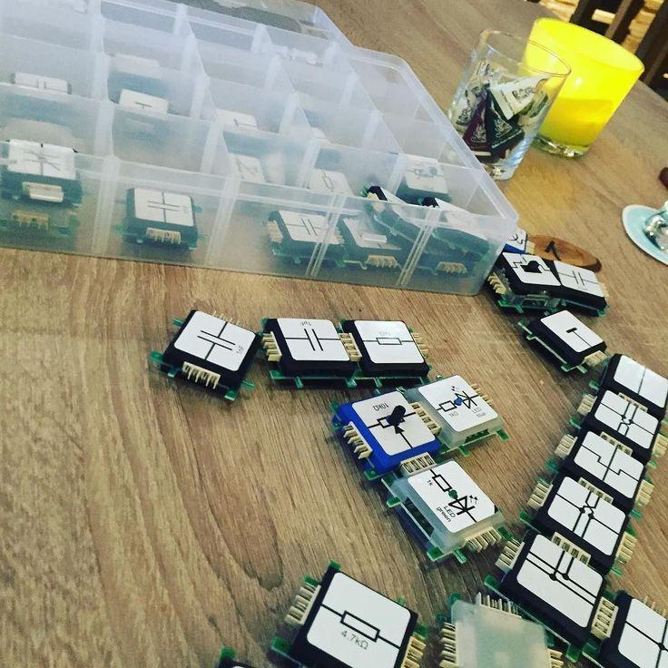 Some Bricks some light and some sugar #bricks #dinnerworkshop #genusszentrale