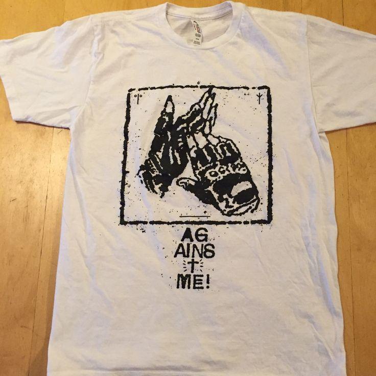 size - Medium Against Me Punks Not Dead gently pre loved shirt no returns on clothing that doesn't fit  10% OFF - LAST DAY!  #againstme #punk #punkband #punkrock #punkrawk #punks #punkgirl #punksnotdead #punkstyle #riseagainst #nofx #snfu #punkshirt #bandshirt #punklife #fatmike #Propagandhi #antiflag #afi #flatliners #Descendents