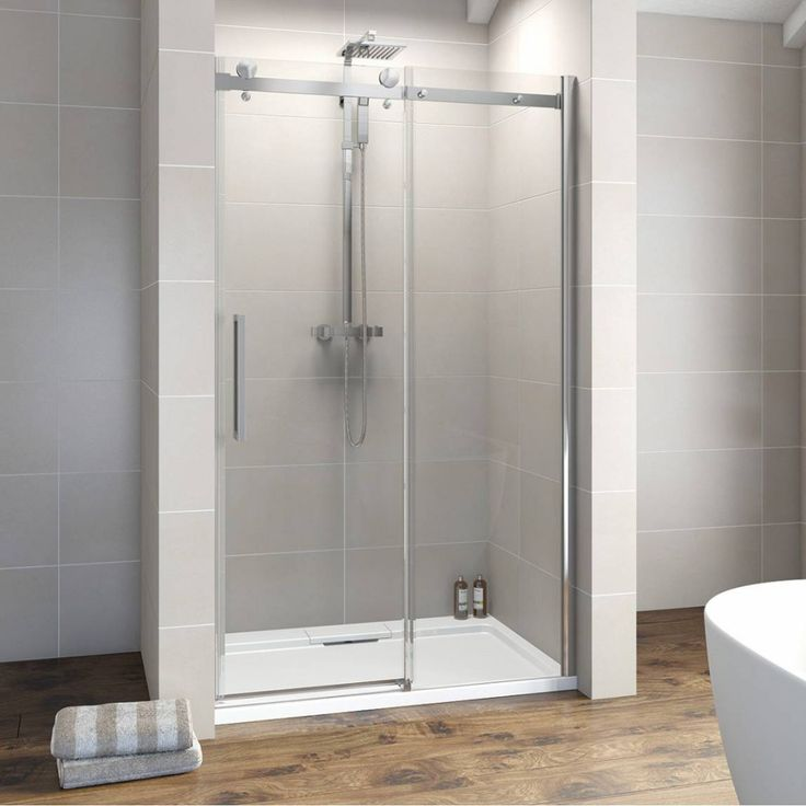 frameless sliding shower door hardware