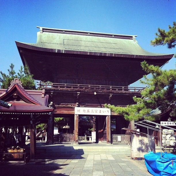 白山神社は新潟市、新潟県にあります
