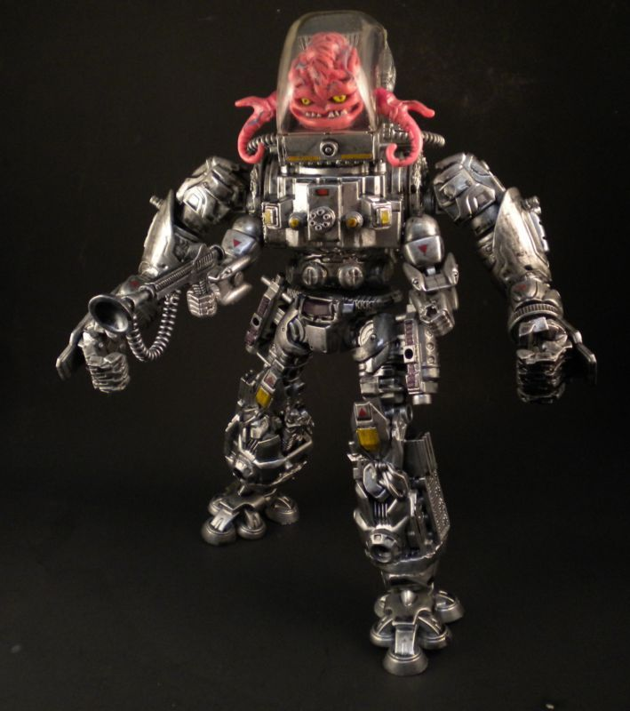 Krang (Teenage Mutant Ninja Turtles) Custom Action Figure