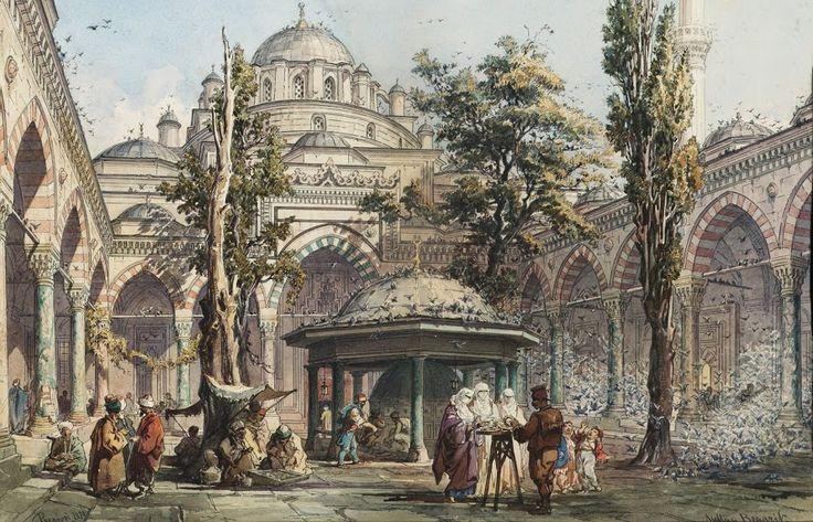 Beyazıt Mosque-Preziosi-1876