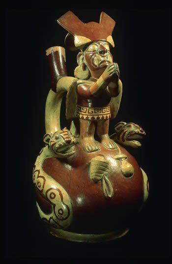 Pottery, Moche Culture, Peru