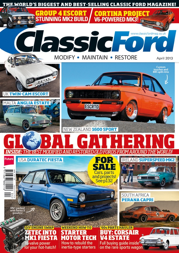 Classic Ford Magazine - www.classicfordmag.co.uk #classicford ...