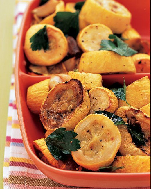 Perfectly Roasted Yellow Squash—It's that Season!