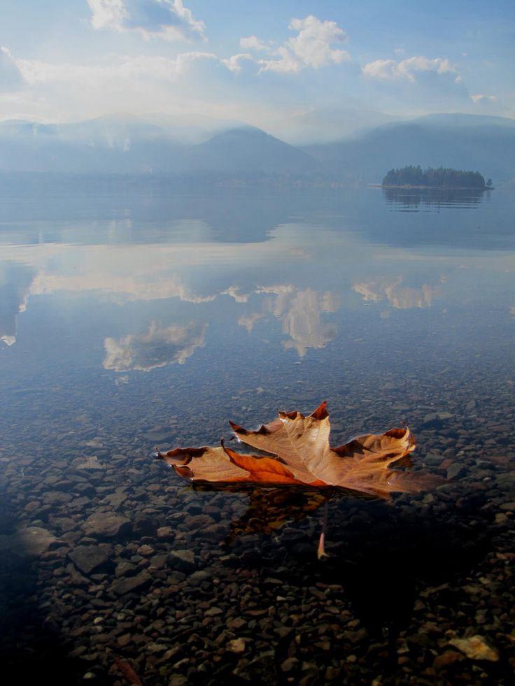 Lake Cowichan BC Fall by JukeBox Photography