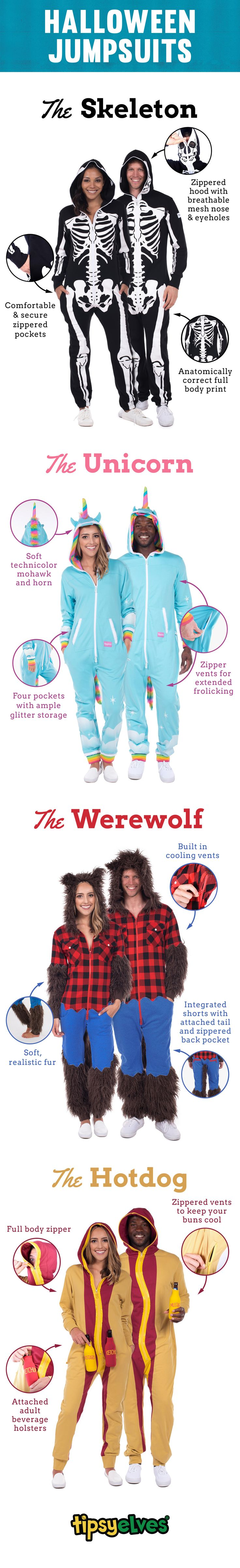Couples Halloween costumes can be a hassle. You want style; he wants comfort. With Tipsy Elves couples halloween costumes, you'll both find what you're looking for. Say goodbye to dollar store couples Halloween costumes and hello to Tipsy Elves apparel. High-quality, stylish, and above all, FUN! Shop over 20 couple's Halloween costumes!