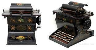 Resultado de imagen para maquinas de escribir antiguas