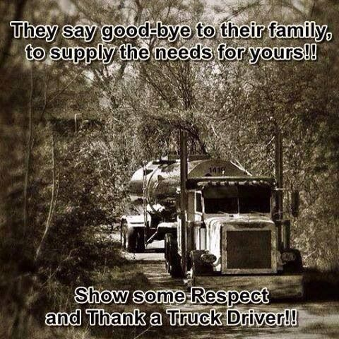 Hard growing up with a trucker daddy who is gone so much, but he does what he needs too! I couldn't be prouder or more grateful that he has been driving for nearly 30 years and has been blessed to make it home after every haul <3 Love my daddy!!!