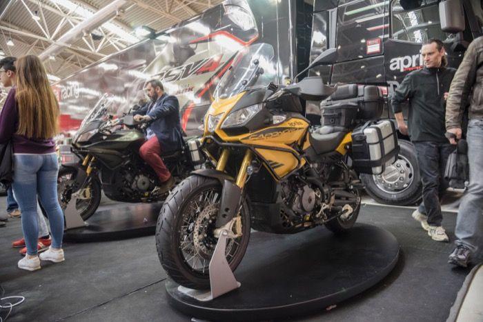Aprilia - Motodays 2015, Roma  #aprilia #bearacer #SBK #motodays #bike #moto