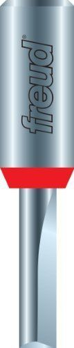 Freud 04502 2mm Diameter by 532Inch Double Flute Straight Router Bit with 14Inch Shank Style 2mm Diameter by 532Inch Double Flute Straight Router Bit with 14Inch Shank Model 04502 * To view further for this item, visit the image link.