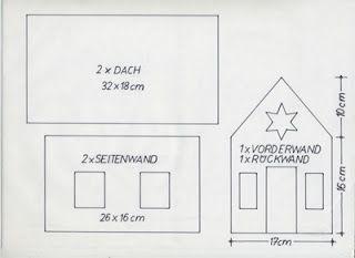 Vorlage Lebkuchenhaus                                                                                                                                                                                 Mehr