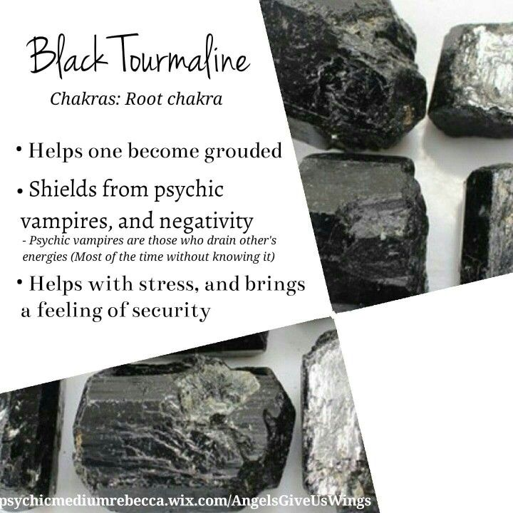 Black Tourmaline crystal meaning