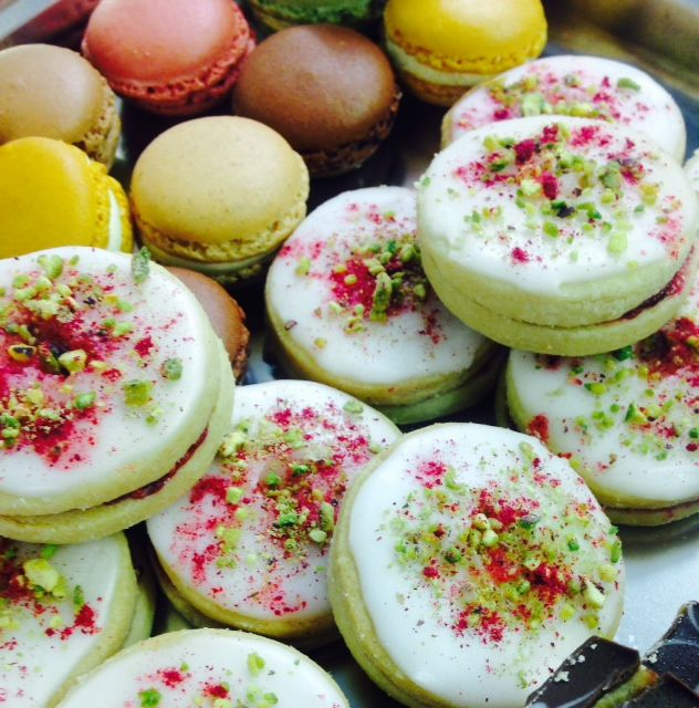 Beautiful macaroons - perfect sweet treat for any afternoon tea!