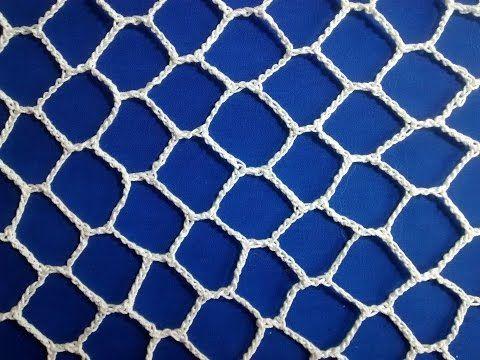 ▶ Irish Crochet Basics, Honeycomb background - YouTube