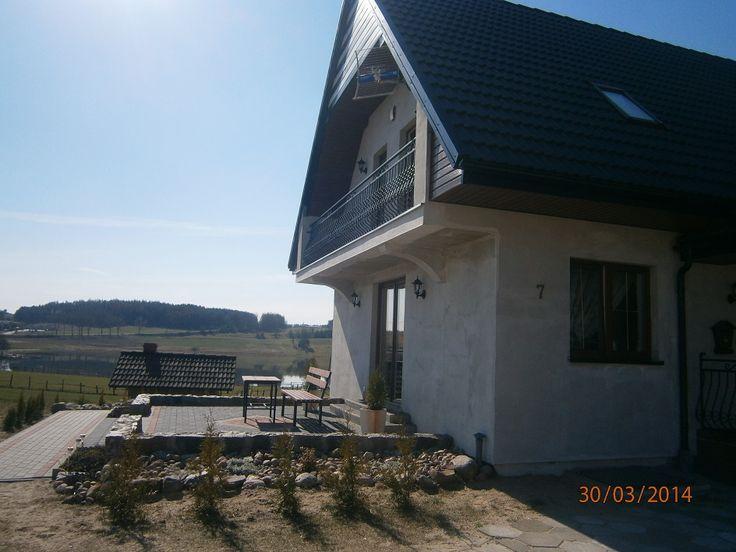 Taras projektu Radosny  #projekt #dom #budowa