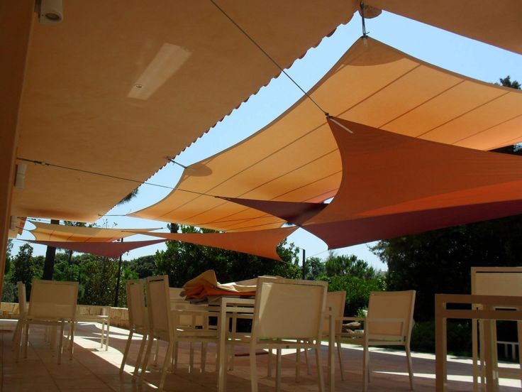 1000 images about shade sails patio and pool cover ideas for Shade sail cost