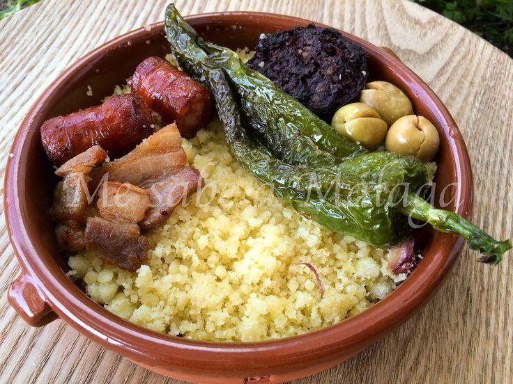 Me sabe a Málaga: Migas de harina de sémola