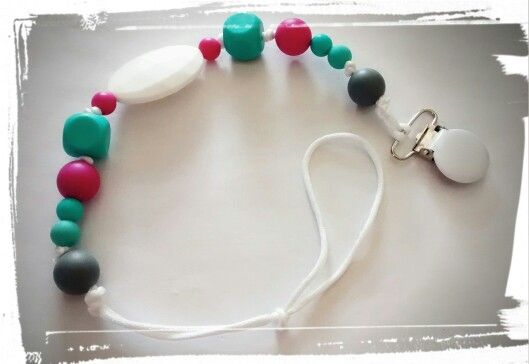 Silicone Pacifier clip  to sale