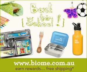 Biome Eco Store Back to school essentials