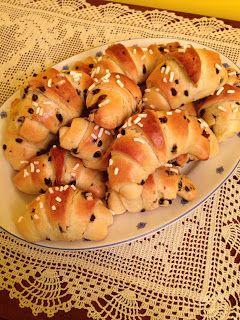 Pasticciando in cucina con il Cuisine Companion Moulinex: Croissants con gocce di cioccolato e riciclo di uo...