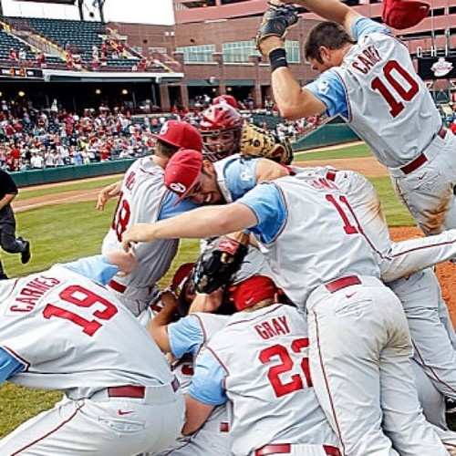Time for another one of these! @OU_Baseball beats Va Tech! 10-4, good buddy. On to Super Regionals!