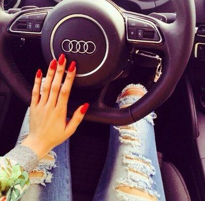 #Audi #Love #driving #woman #women #girl #donne #Monday