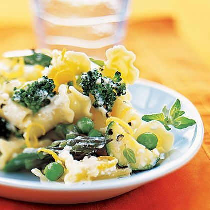 Campanelle with Summer Vegetables | Learn how to make Campanelle with Summer Vegetables. MyRecipes has 70,000  tested recipes and videos to help you be a better cook