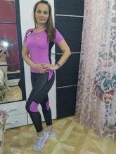 Tienda Online Mujeres Trajes de Yoga Gym Fitness Ropa Camisa + Pantalones de Mallas Para Correr Jogging Entrenamiento de Tenis Yoga Leggings Sport Suit | Aliexpress móvil