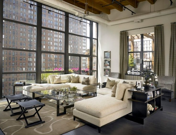 Sexy Urban Loft with Chicago Views | Ideas for Home Garden Bedroom Kitchen - HomeIdeasMag.com
