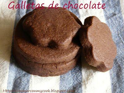 Cocinar con MyCook: GALLETAS DE CHOCOLATE