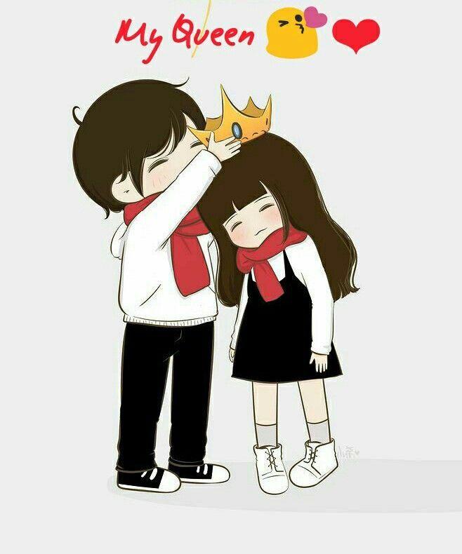 Pin Di Couple Todaypin King and queen cartoon wallpaper