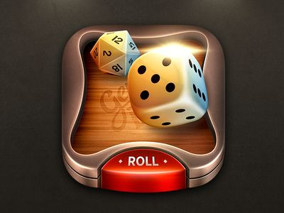 Dribbble - Genius Dice iOS Icon by MadSquare Such a incentive for students to play games!