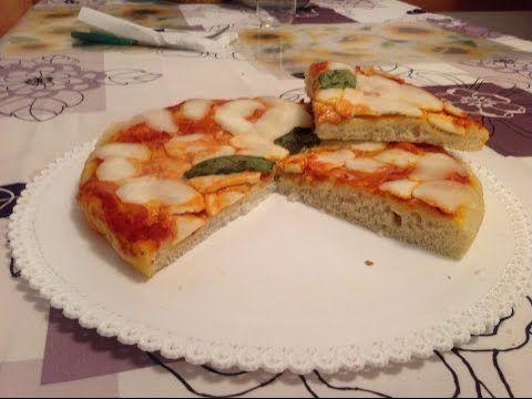 La ricetta della Pizza margherita dell'ex pasticcere - YouTube