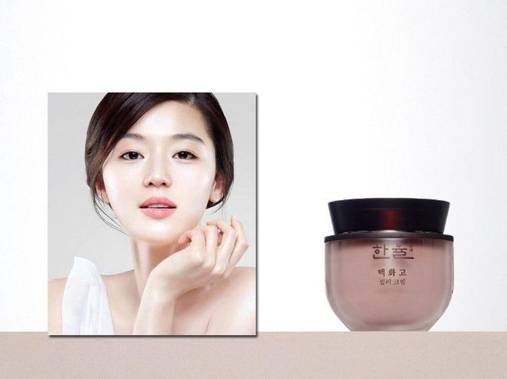 HANYUL Baek Hwa Goh Wrinkle Filler Cream CF Model Jun Ji-hyun renewed product #AMOREPACIFICHANYUL