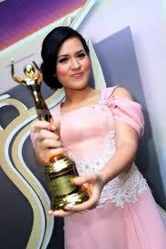#beauty #singer #inspired #raisa andriana