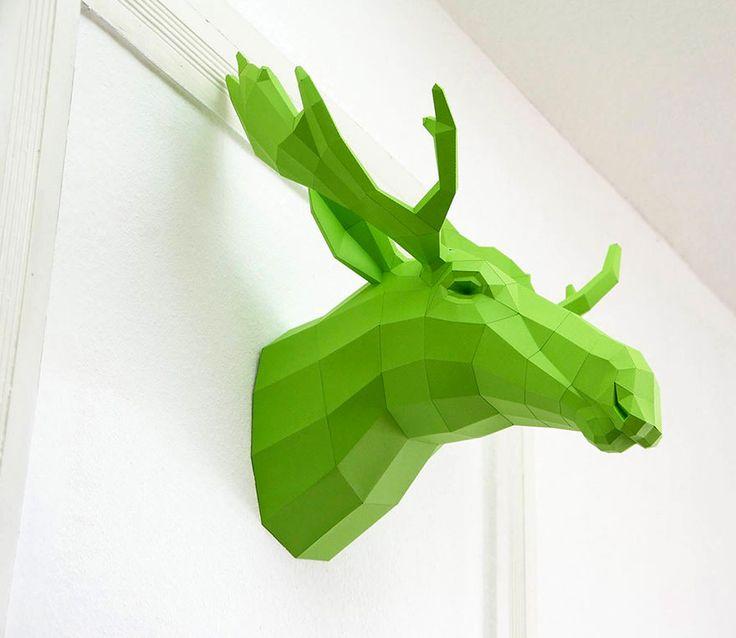 Wolfram Kampffmeyer y sus esculturas de papel (Yosfot blog)