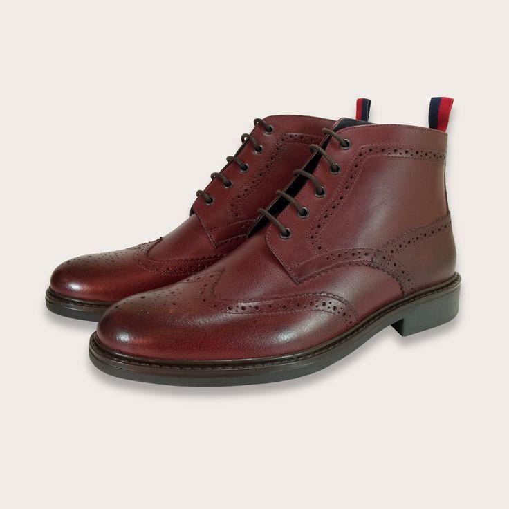 30 best Men\'s Leather Brogue Boots images on Pinterest