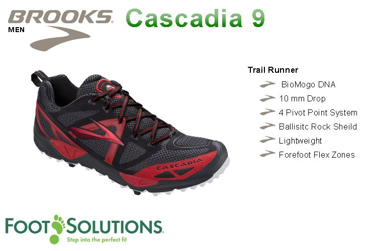 Brooks Casadia 9 - Men  //  Arriving Spring 2014