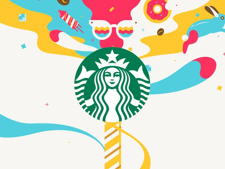ANIMATION: Cool animation made for Starbucks promotion. It can be used on social media and various other media.