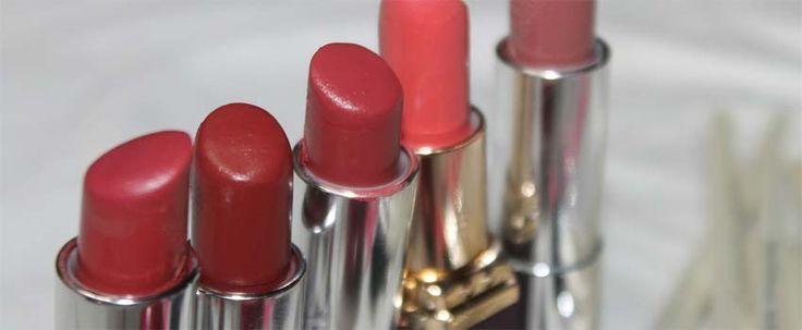 #læbestifter i forskellige nuancer   le-reve.dk