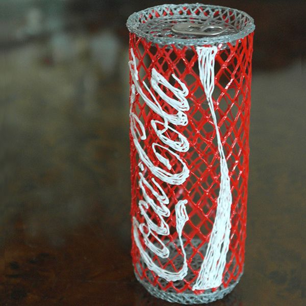 It makes me thirsty just looking at it #CokaCola can beautifully created using the #3Doodler www.maplin.co.uk/...