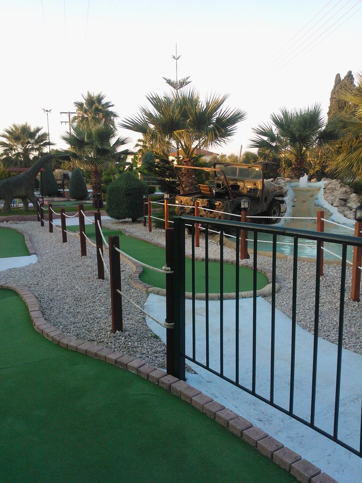 This was fun! We played many times minigolf.