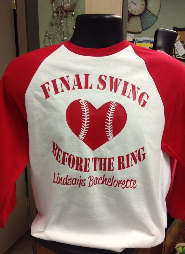 Custom Bachelorette Baseball Tshirt by TheShirtPlace on Etsy, $29.00