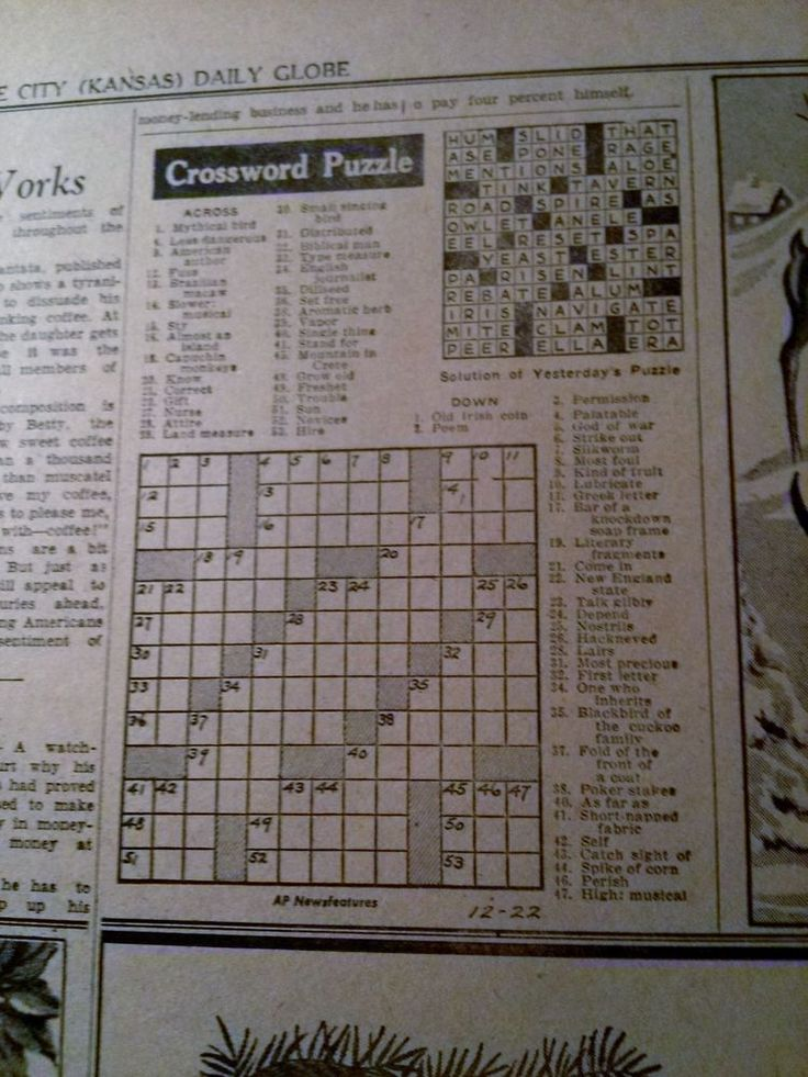 Still stressed towards resolve the particular crossword hint '*Newspaper posting lead-i'?