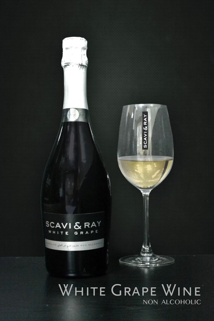 Quench your thirst with our non-alcoholic Scavi  White Grape Wine. Now available at milK.