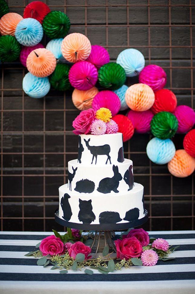 Woodland Critter Cake